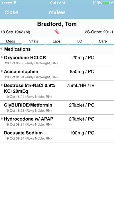 PatientTouch - Patient Prescription Medicine Screenshot